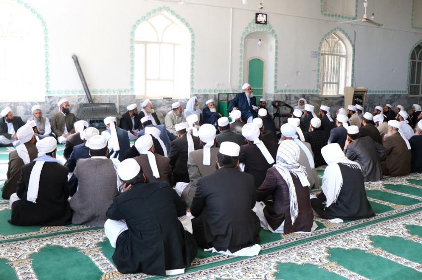 مردم را به ثبات در دین، اعمال صالح و حفظ وحدت دعوت کنیم